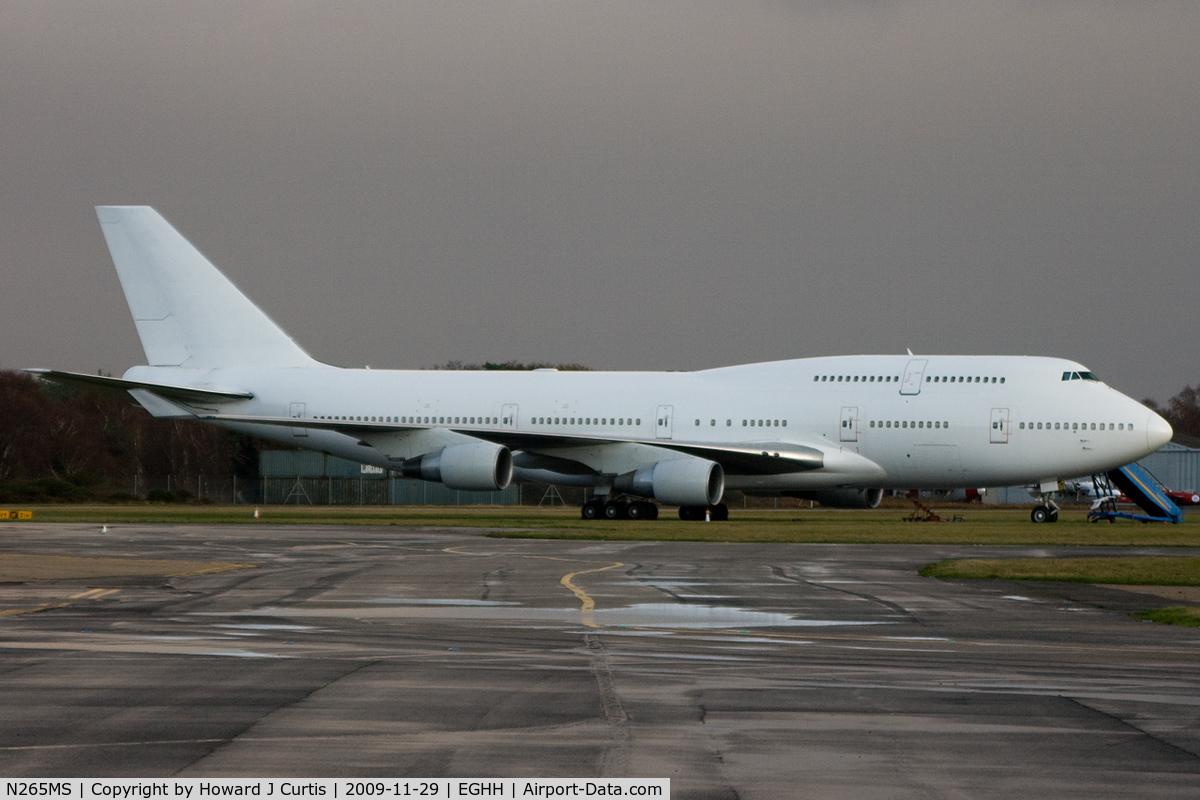 N265MS, Boeing 747-412 C/N 26562, Ex 9V-SPG.