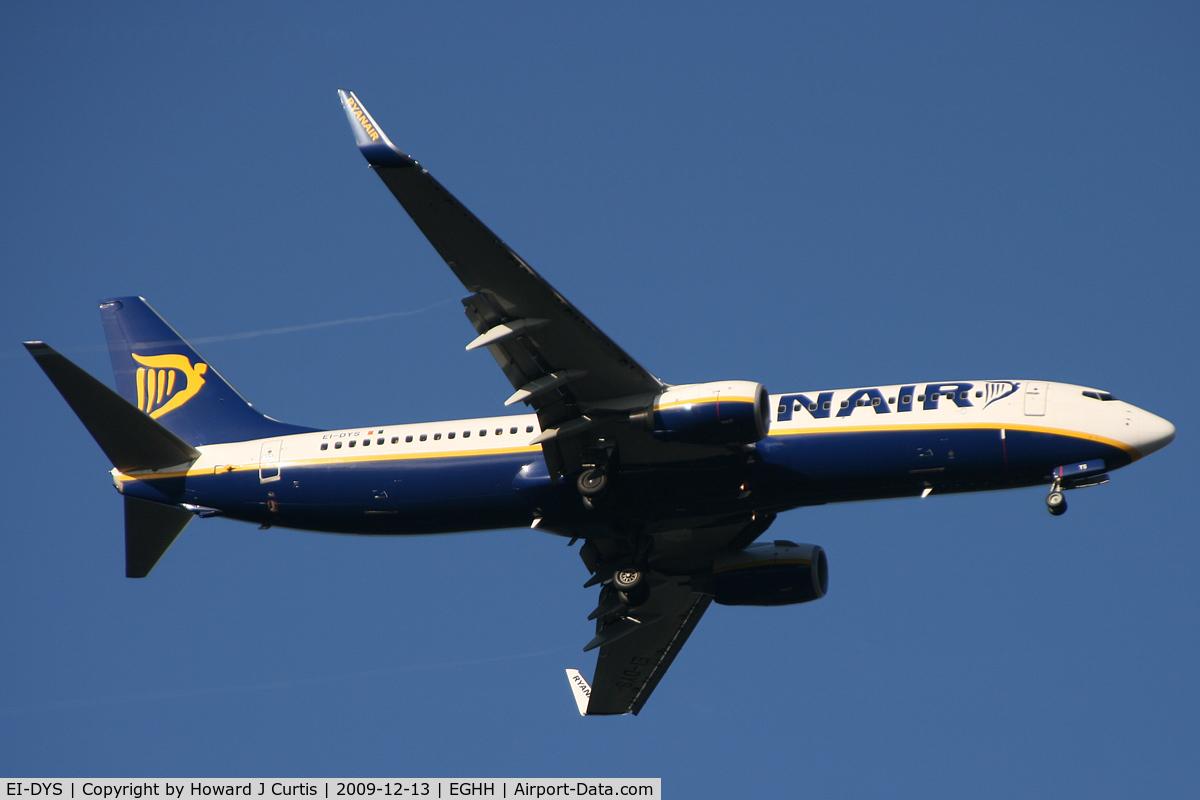 EI-DYS, 2008 Boeing 737-8AS C/N 37514, Ryanair.