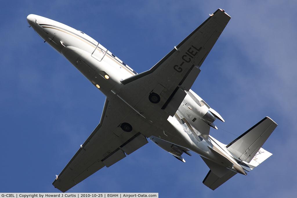 G-CIEL, 2002 Cessna 560XL Citation Excel C/N 560-5247, Corporate