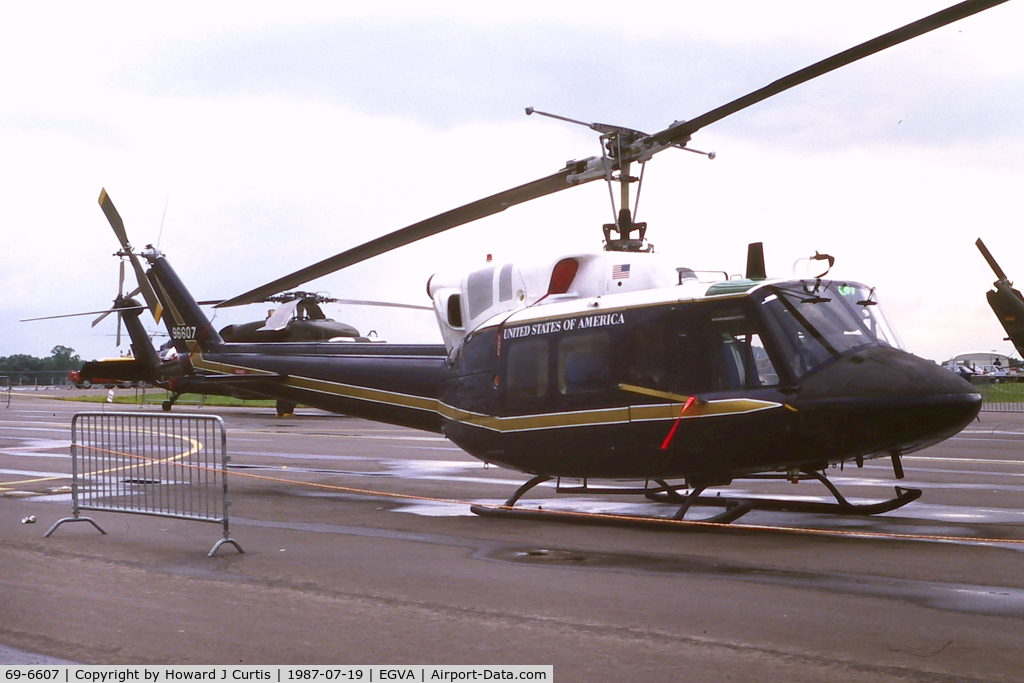 69-6607, 1969 Bell UH-1N Iroquois C/N 31013, At IAT.