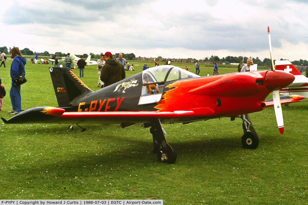 F-PYFY, 1979 Piel CP-80TR-160 Zephir C/N 03, Privately owned.