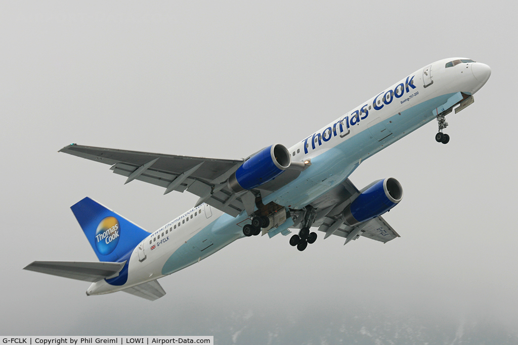 G-FCLK, 1993 Boeing 757-2Y0 C/N 26161, Taken at INN