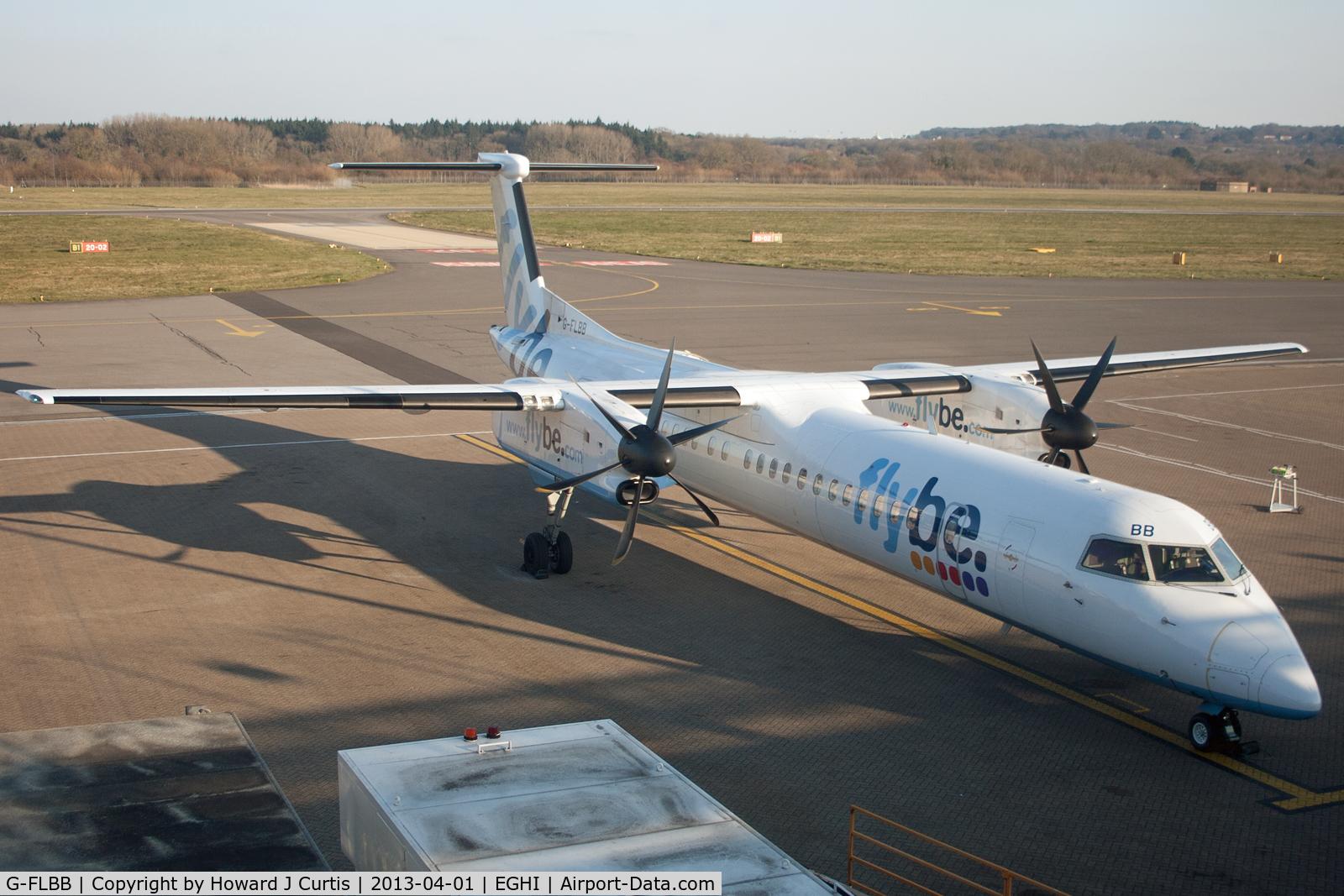 G-FLBB, 2009 De Havilland Canada DHC-8-402Q Dash 8 C/N 4255, flybe.