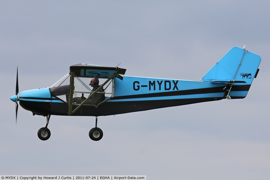 G-MYDX, 1992 Rans S-6ESD Coyote II C/N PFA 204-12238, Privately owned.