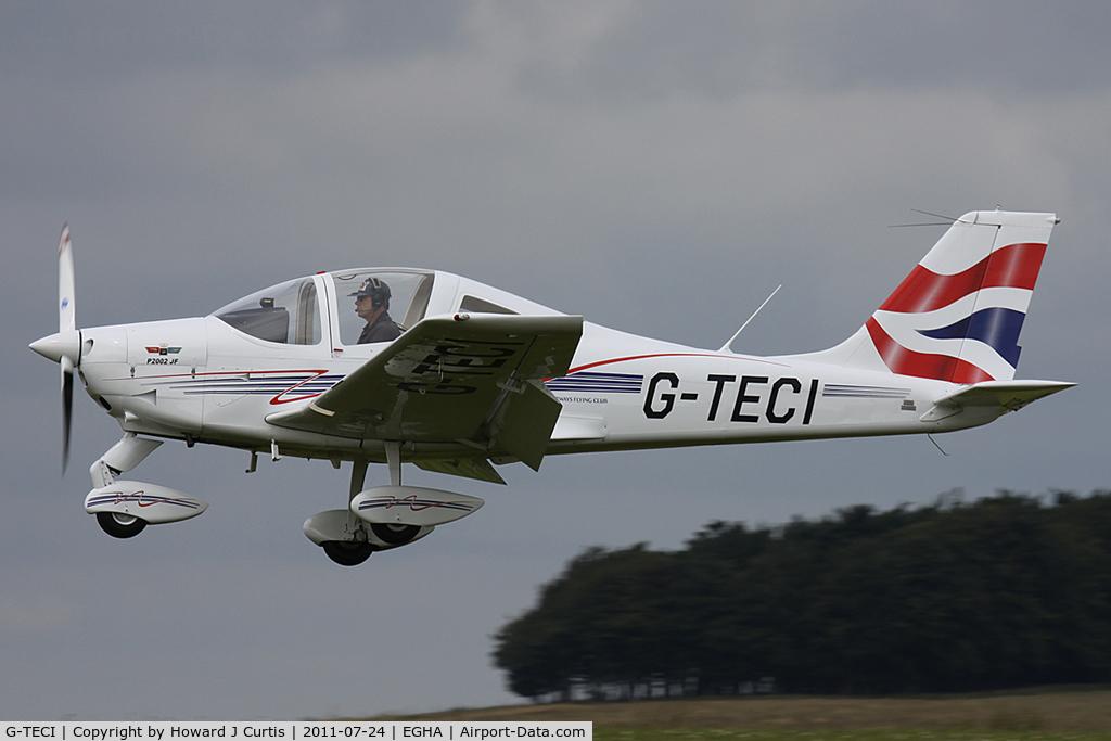 G-TECI, 2010 Tecnam P-2002JF Sierra C/N 127, Privately owned.