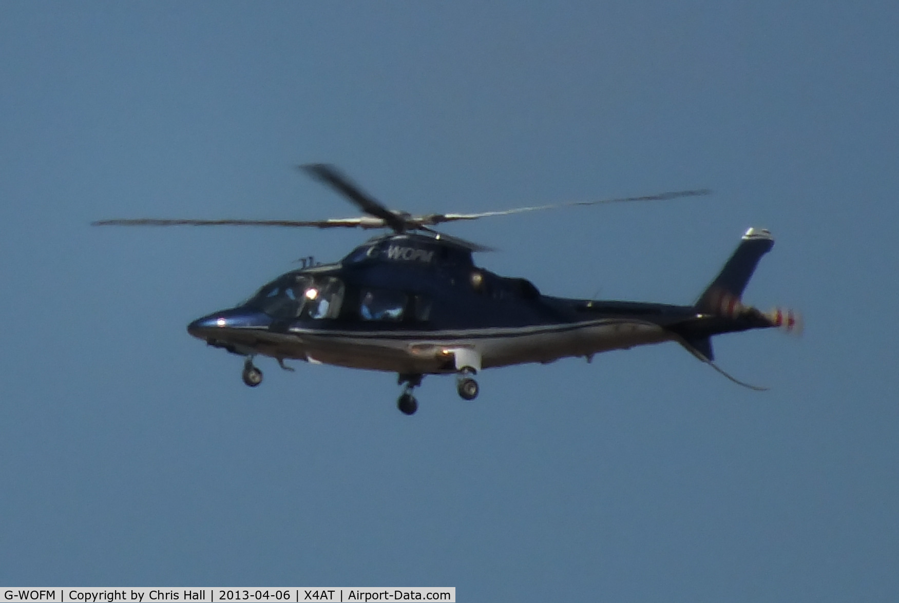 G-WOFM, 2006 Agusta A-109E Power C/N 11678, Ferrying racegoers into Aintree for the 2013 Grand National