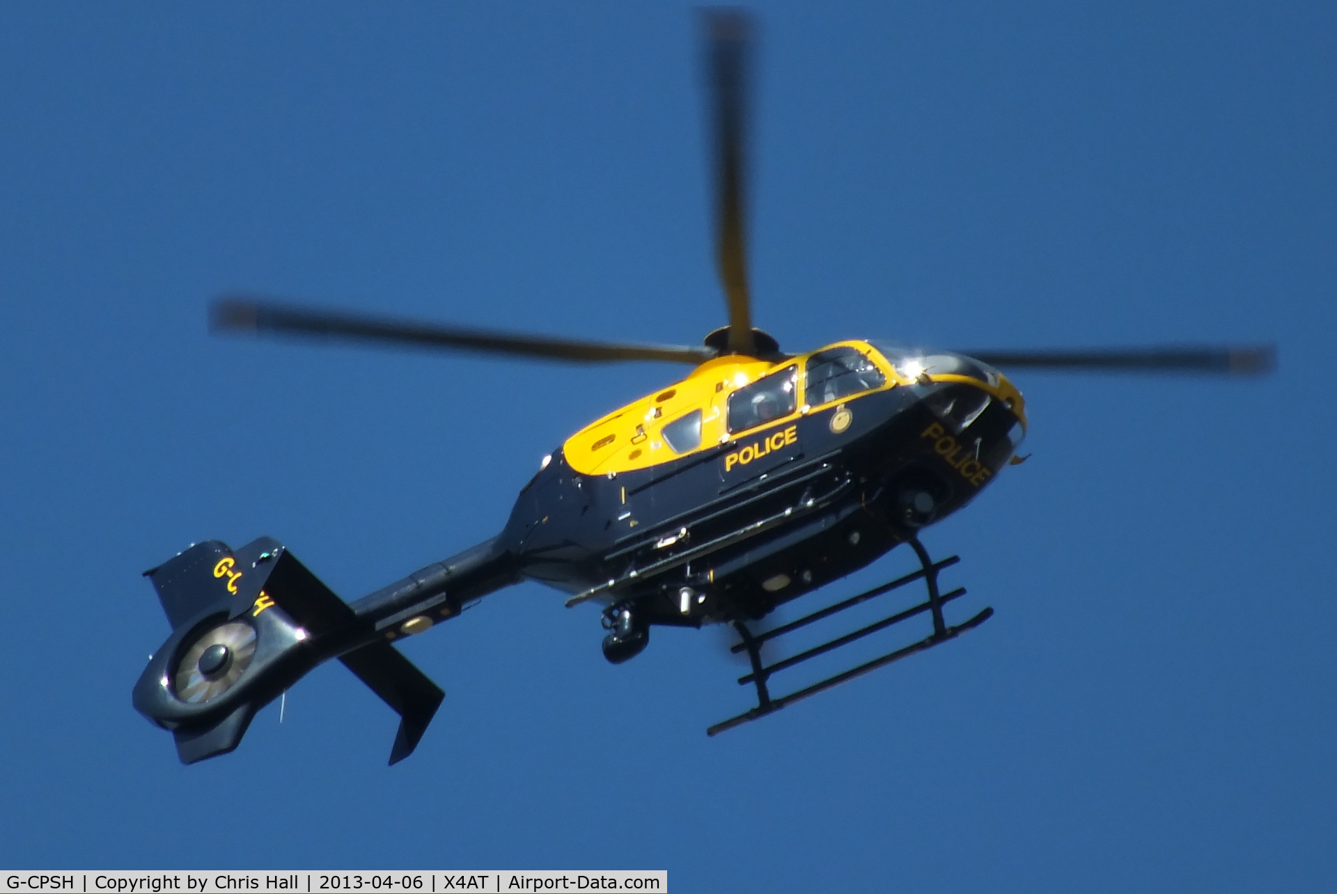 G-CPSH, 2001 Eurocopter EC-135T-2+ C/N 0209, Police helicopter at the 2013 Grand National, Aintree