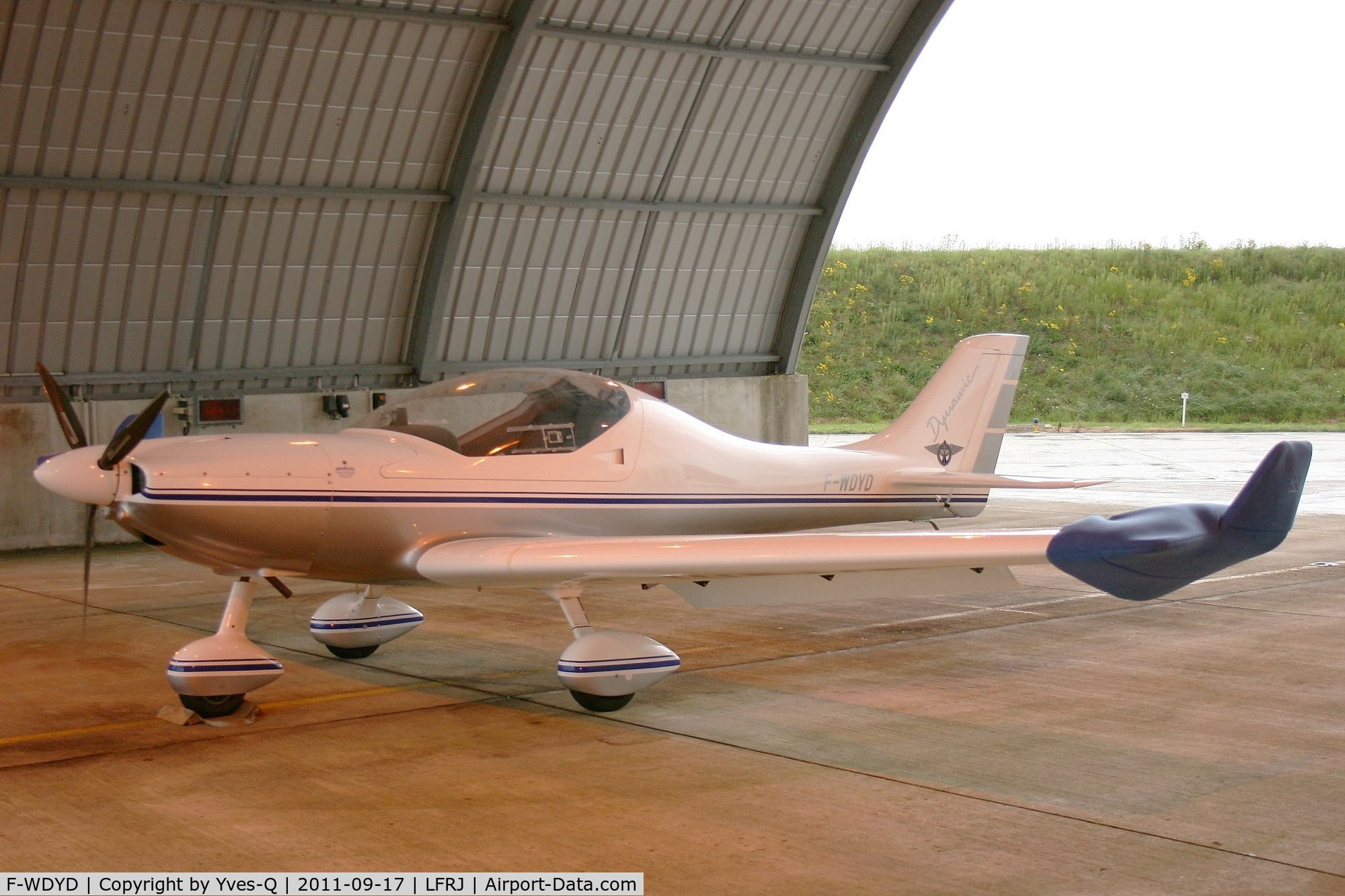 F-WDYD, 2000 Aerospool WT-9 Dynamic C/N DY377/2000, Aerospool Dynamic WT9 Dynamic, Landivisiau Naval Air Base (LFRJ)