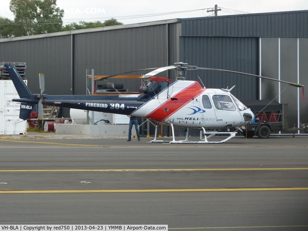 VH-BLA, 1982 Eurocopter AS-350BA Ecureuil C/N 1651, VH-BLA at YMMB