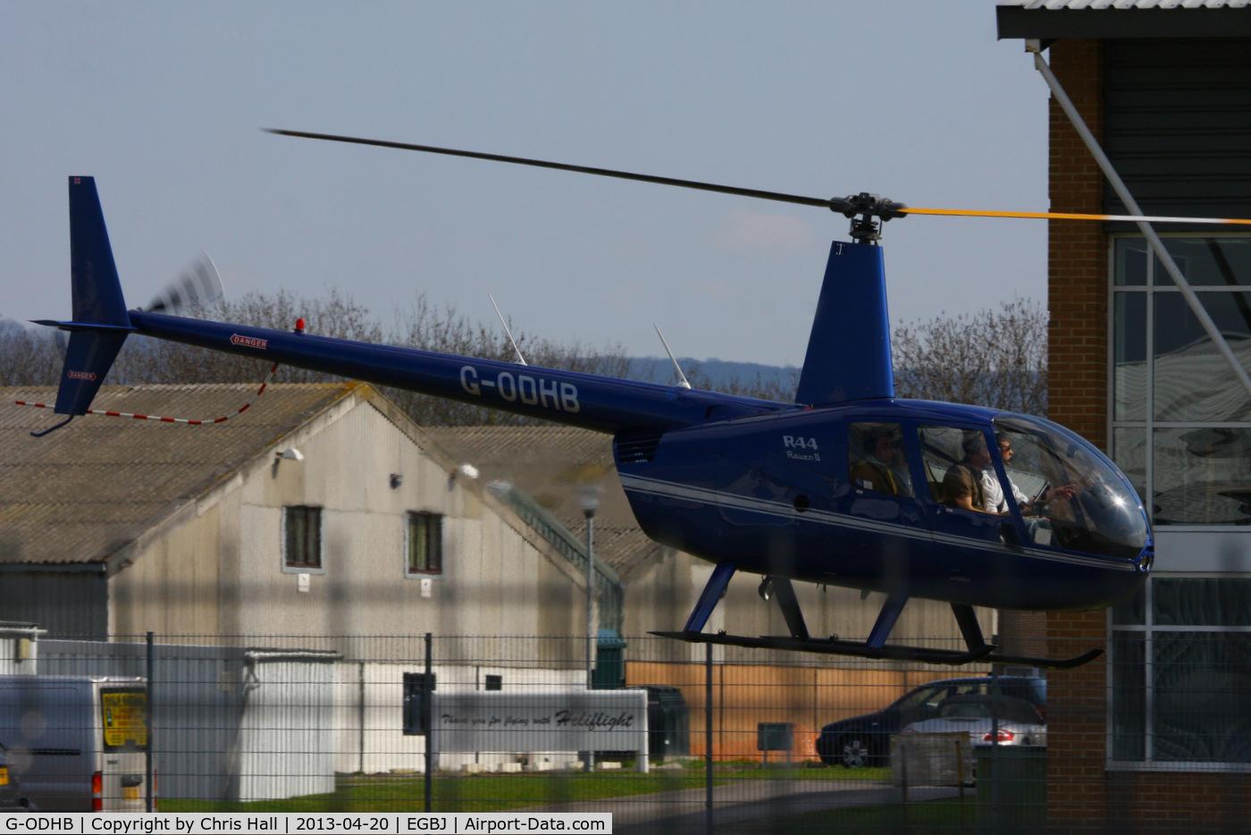 G-ODHB, 2005 Robinson R44 Raven II C/N 10985, Rivermead Aviation Ltd