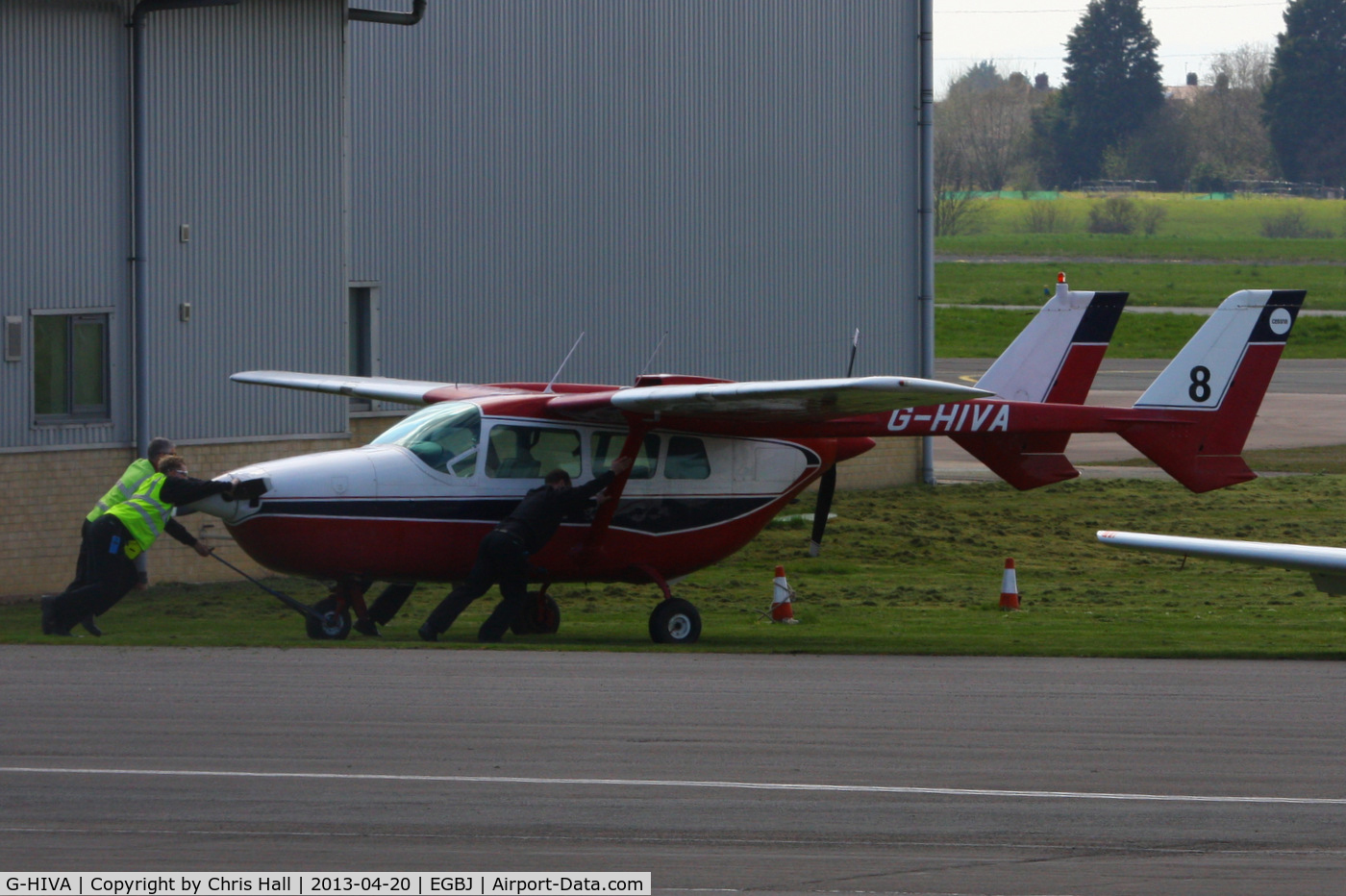 G-HIVA, 1966 Cessna 337A Super Skymaster C/N 337-0429, privately owned