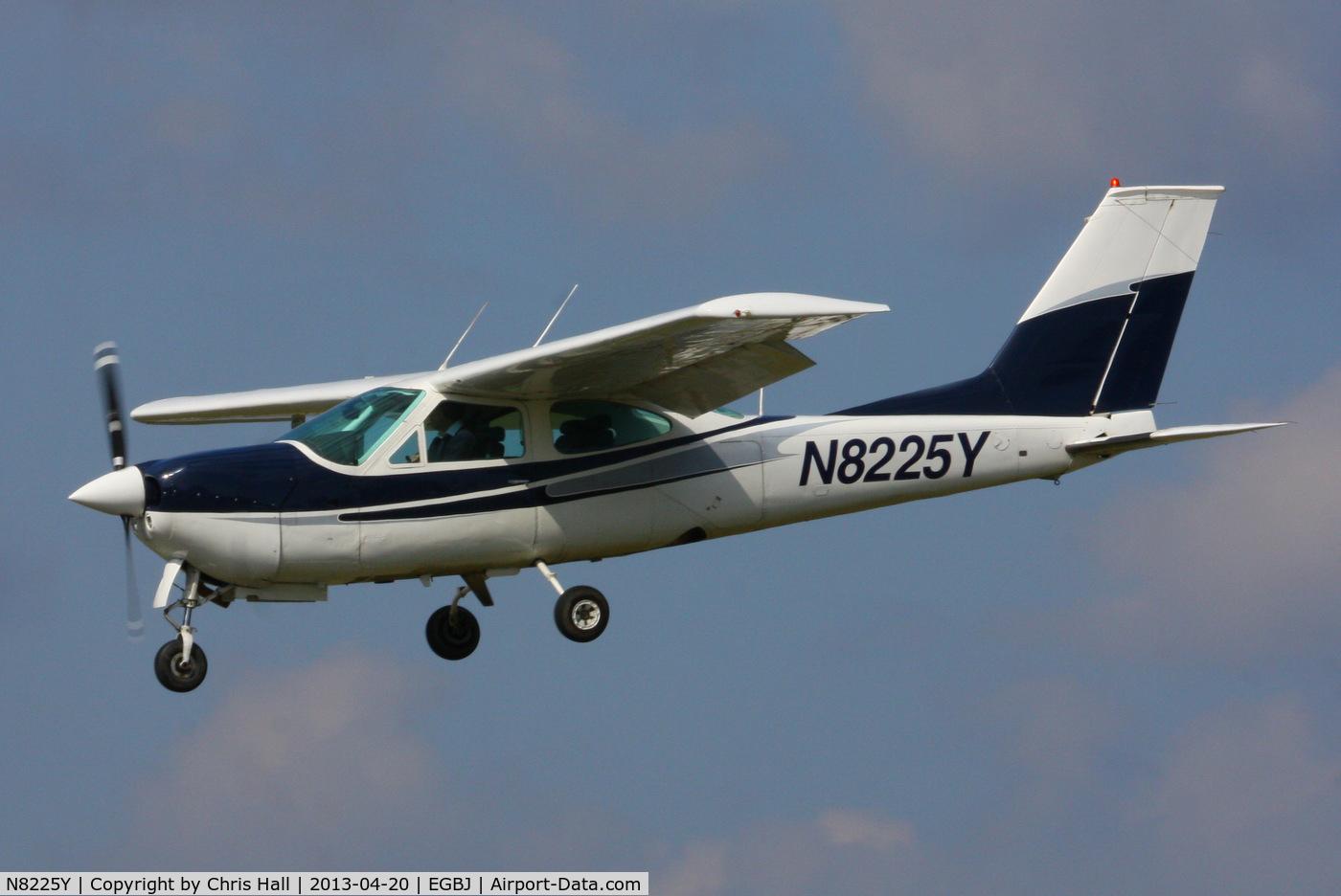 N8225Y, 1977 Cessna 177RG Cardinal C/N 177RG1247, privately owned