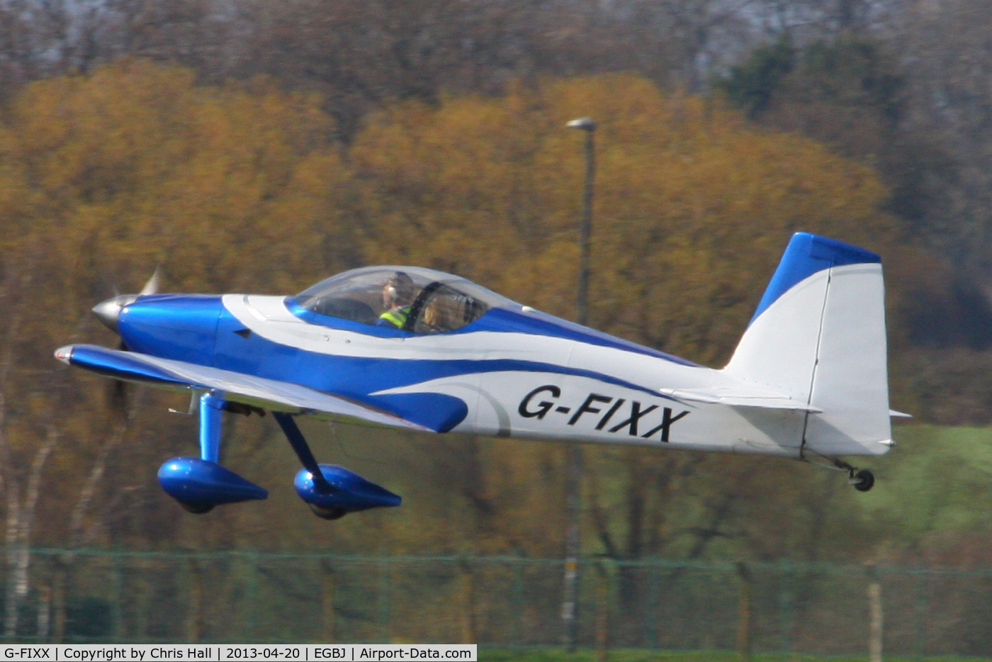 G-FIXX, 2010 Vans RV-7 C/N PFA 323-14225, privately owned