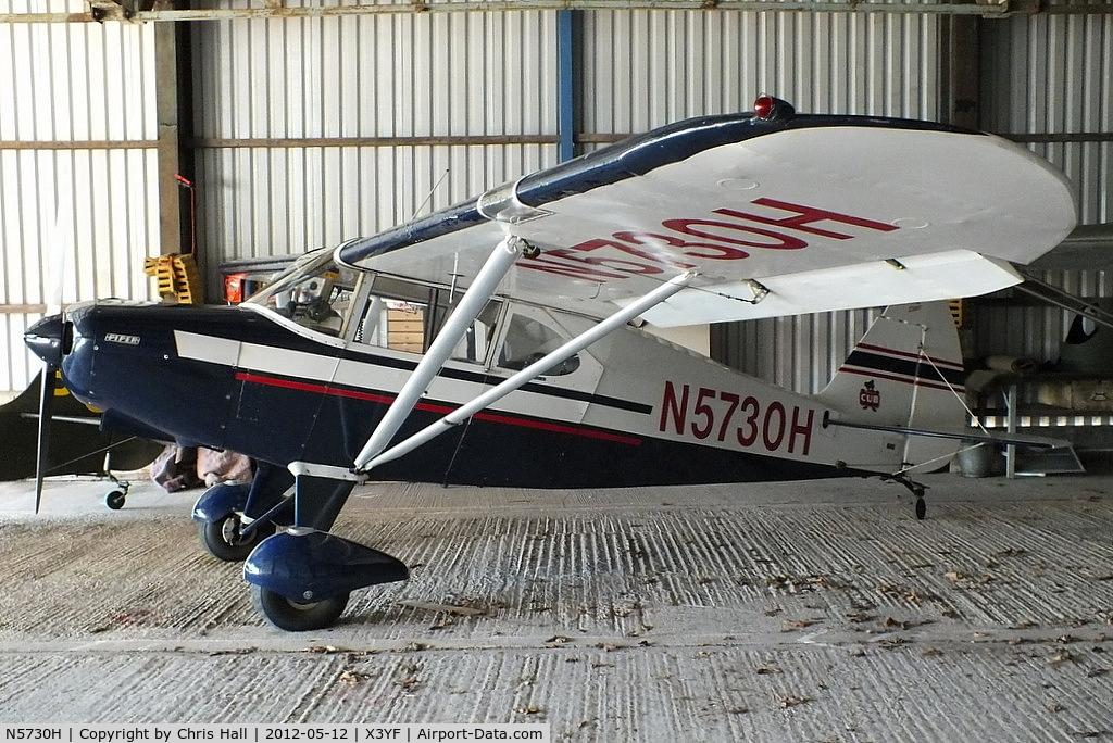 N5730H, 1949 Piper PA-16 Clipper C/N 16-342, at Yeatsall Farm, Abbots Bromley