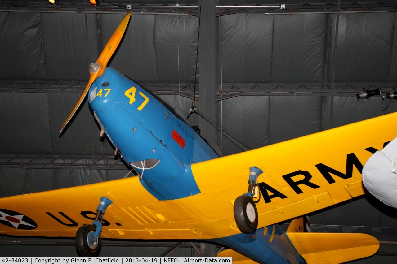 42-34023, 1942 Fairchild PT-19A-FA C/N TA42-3589, In the WWII gallery