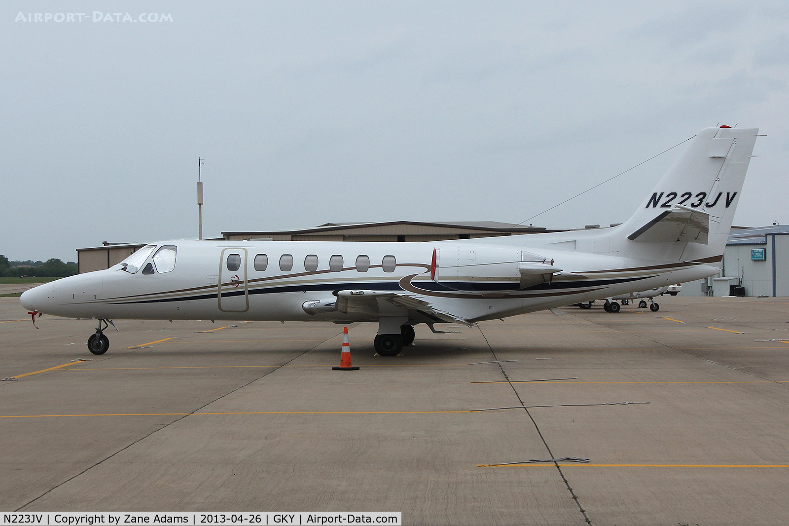 N223JV, 1991 Cessna 560 C/N 5600131, At Arlington Municipal Airport