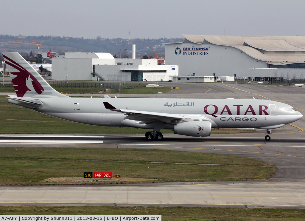 A7-AFY, 2013 Airbus A330-243F C/N 1386, Delivery day...
