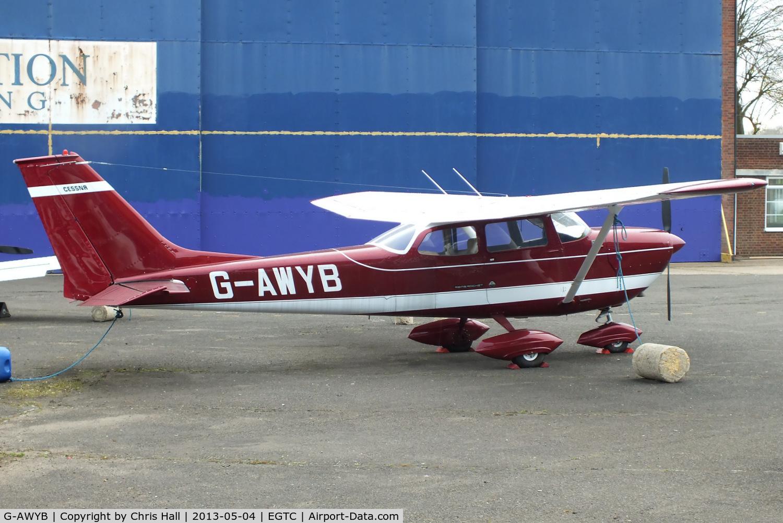 G-AWYB, 1969 Reims FR172F Reims Rocket C/N 0075, in a new colour scheme since I last saw it in 2008