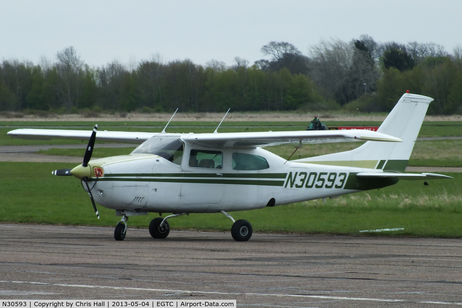 N30593, 1973 Cessna 210L Centurion C/N 21059938, privately owned