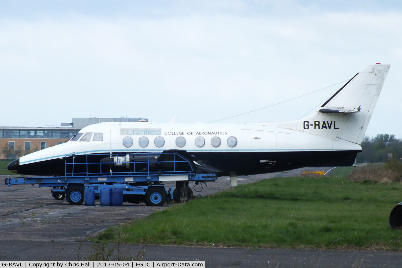 G-RAVL, 1969 Handley Page HP-137 Jetstream 200 C/N 208, Cranfield University