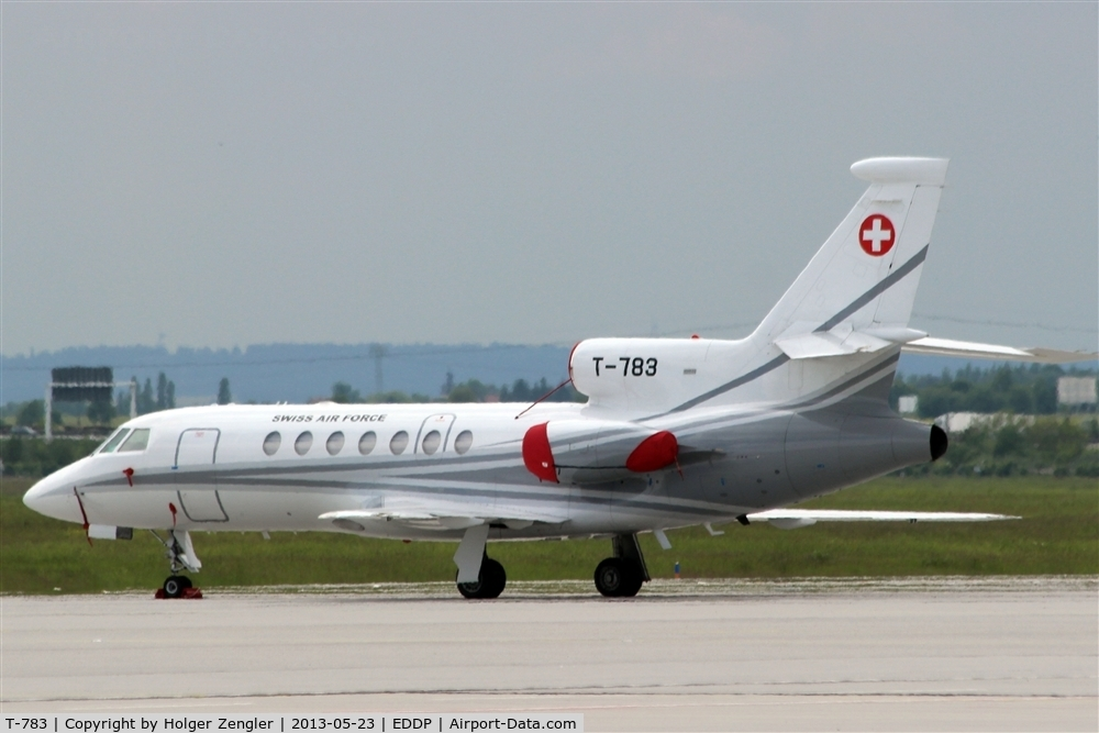 T-783, Dassault Falcon 50 C/N 67, Visitor on GAT and of 150th anniversary of Germanys Social Democratic Party in Leipzig.