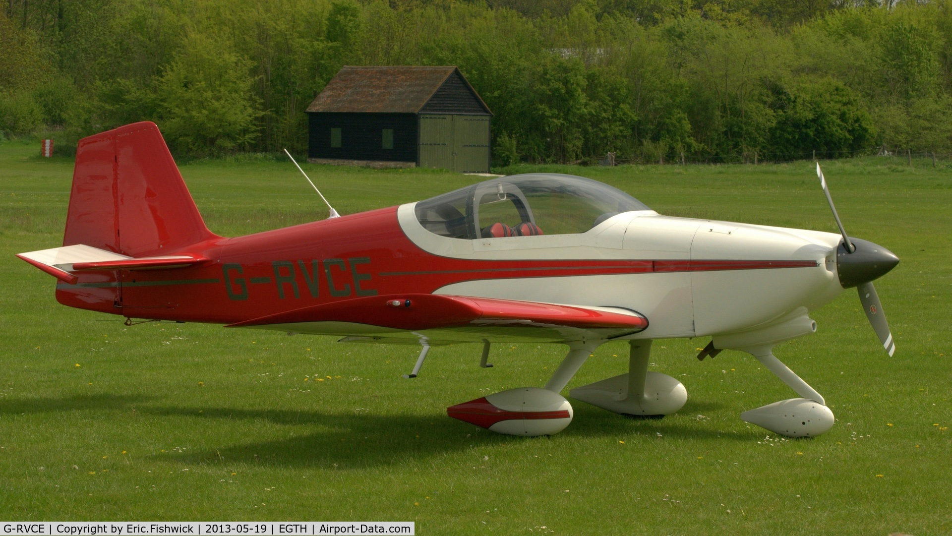 G-RVCE, 2001 Vans RV-6A C/N PFA 181-13372, 2. G-RVCE at Shuttleworth Flying Day and LAA Party in the Park, May 2013.
