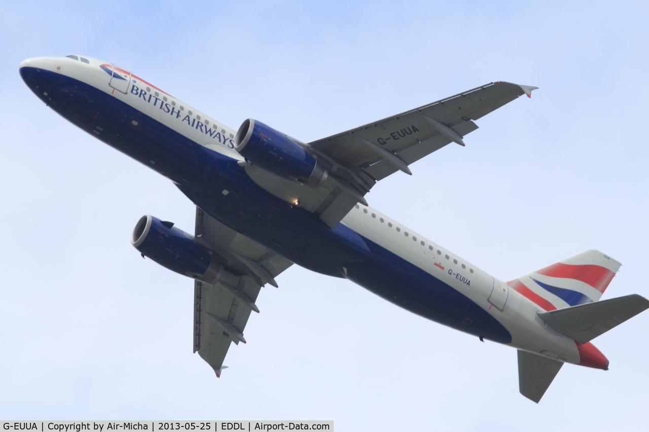 G-EUUA, 2001 Airbus A320-232 C/N 1661, British Airways, Airbus A320-232, CN: 1661