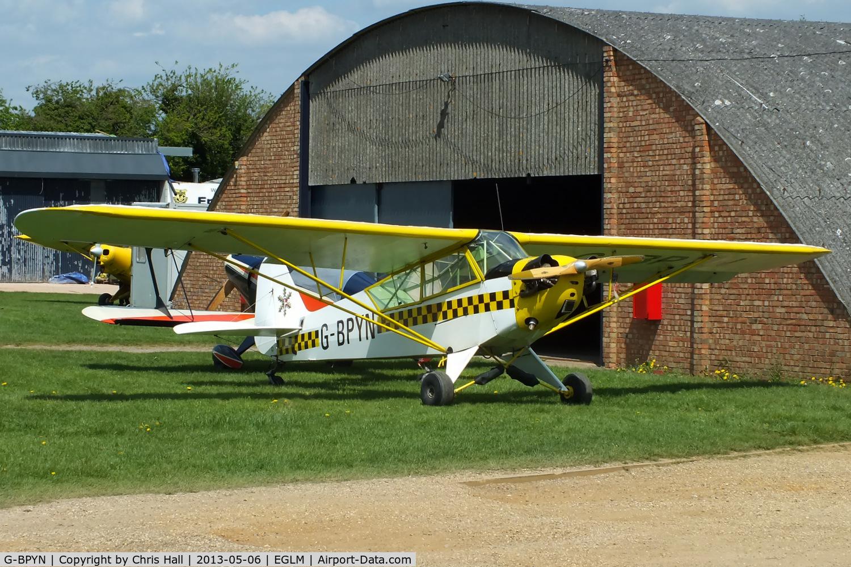 G-BPYN, 1943 Piper L-4H Grasshopper (J3C-65D) C/N 11422, White Waltham resident