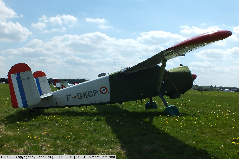 F-BXCP, 1960 Max Holste MH-1521M Broussard C/N 149, White Waltham resident