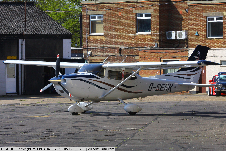 G-SEHK, 2008 Cessna 182T Skylane C/N 18282132, privately owned