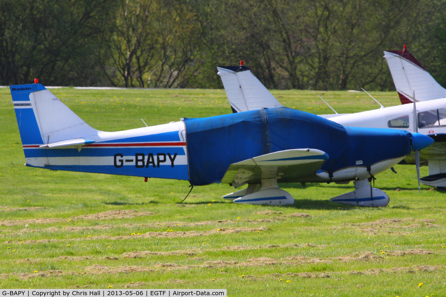 G-BAPY, 1972 Robin HR-100-210 Safari C/N 153, privately owned