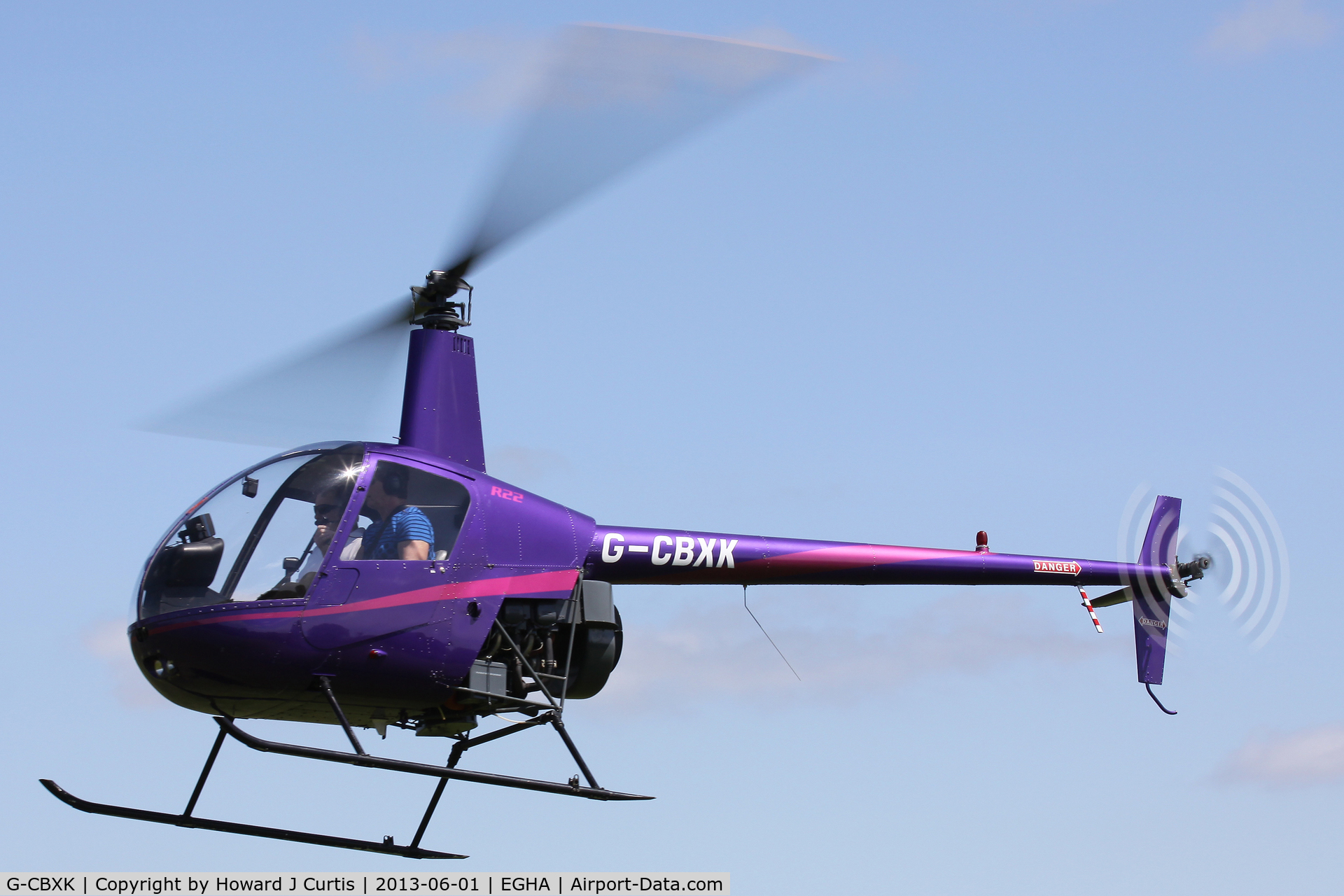 G-CBXK, 1993 Robinson R22 Mariner C/N 2302M, Privately owned.