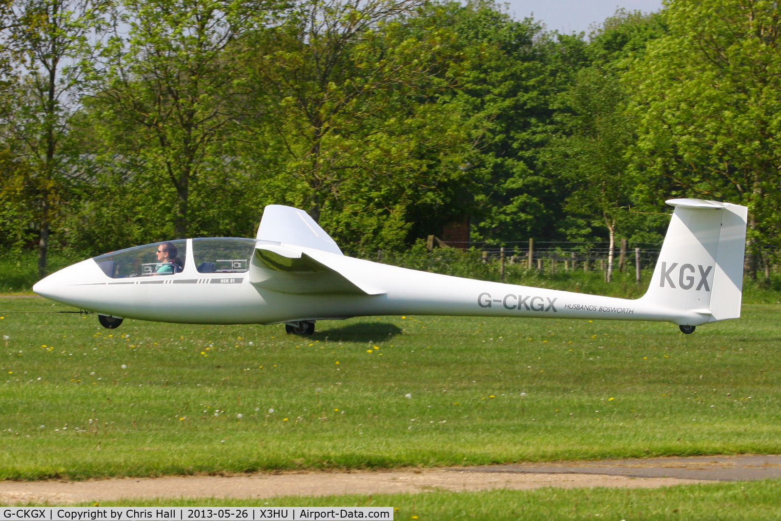 G-CKGX, 2004 Schleicher ASK-21 C/N 21782, Coventry Gliding Club, Husbands Bosworth