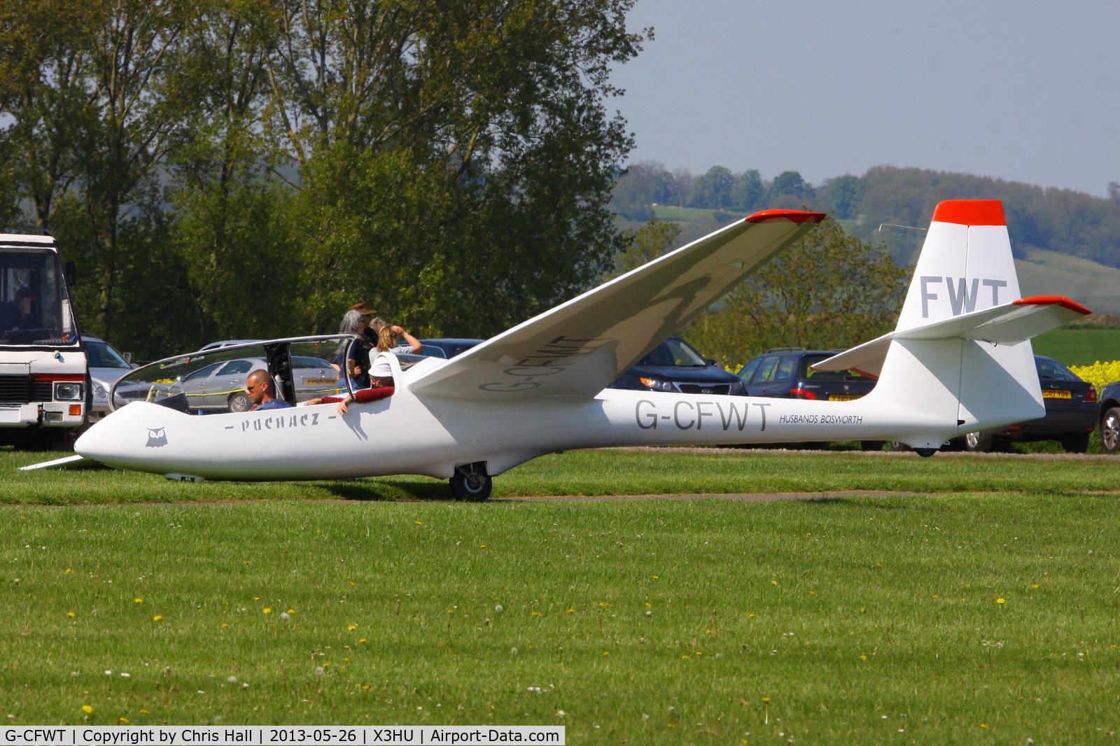 G-CFWT, 1990 PZL-Bielsko SZD-50-3 Puchacz C/N B-1988, Coventry Gliding Club, Husbands Bosworth