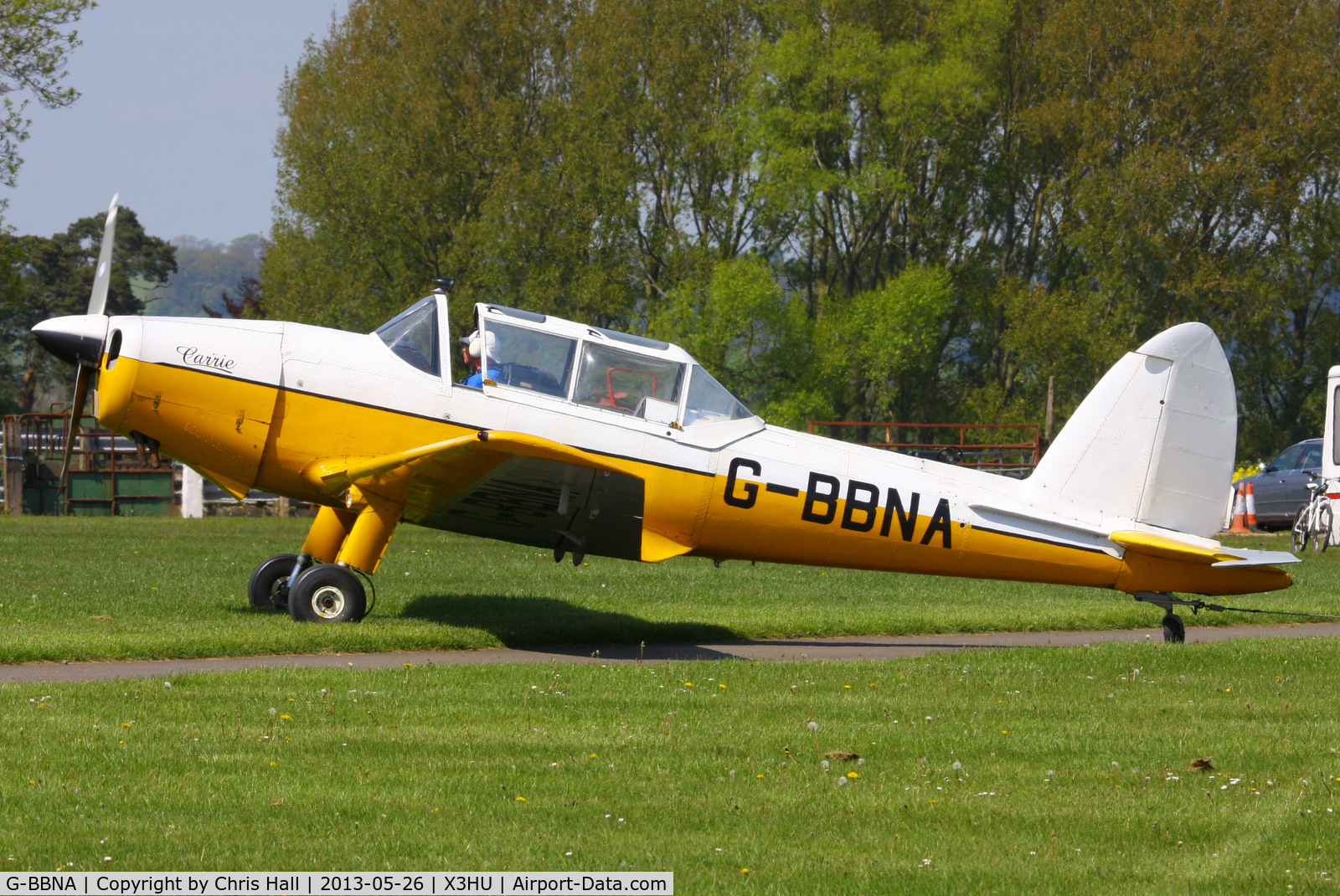 G-BBNA, 1953 De Havilland DHC-1 Chipmunk 22 (Lycoming) C/N C1/0491, Coventry Gliding Club, Husbands Bosworth