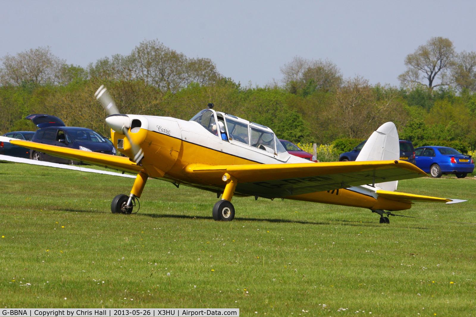 G-BBNA, 1953 De Havilland DHC-1 Chipmunk 22 (Lycoming) C/N C1/0491, Coventry Gliding Club, Husbands Bosworth