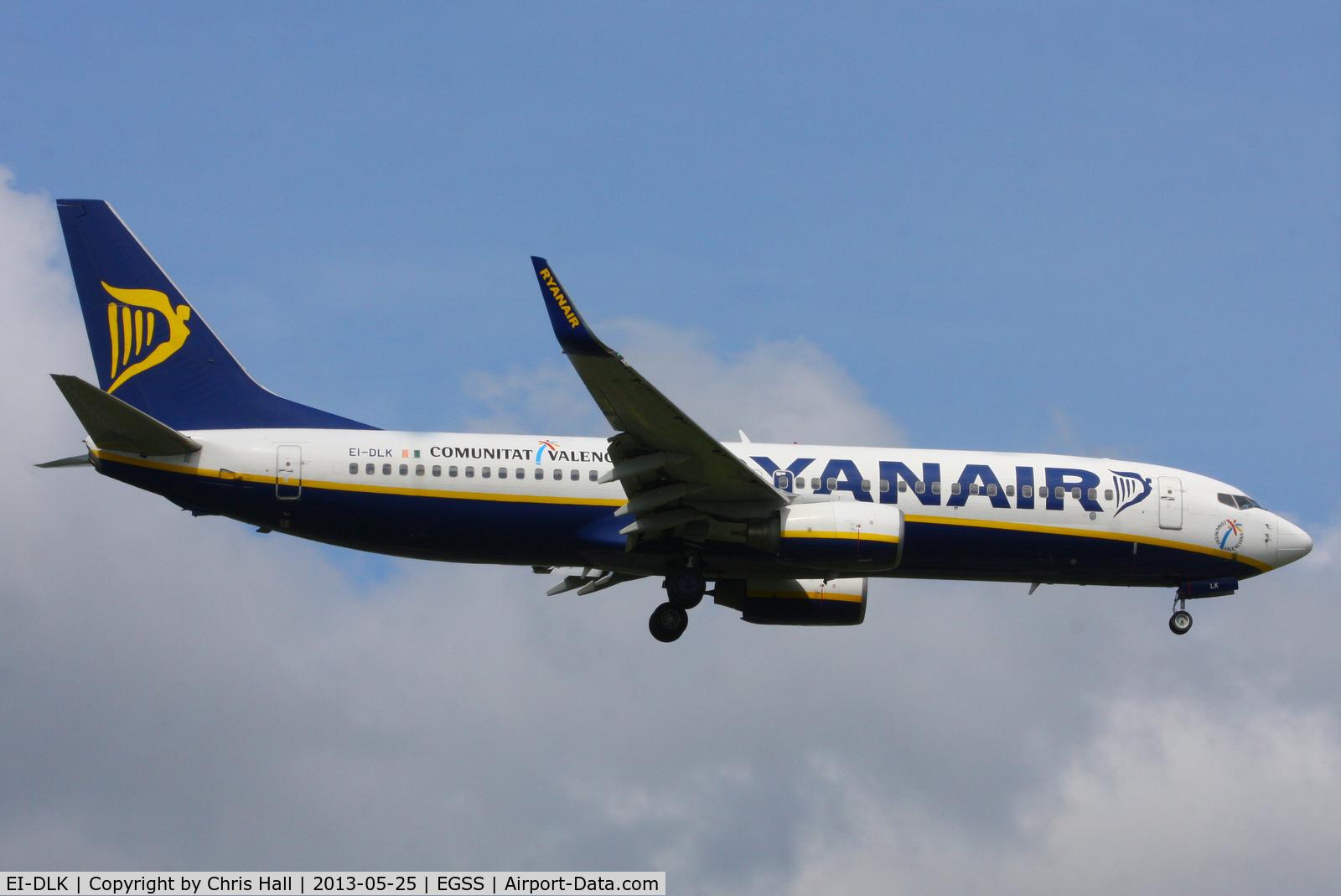 EI-DLK, 2006 Boeing 737-8AS C/N 33592, Ryanair