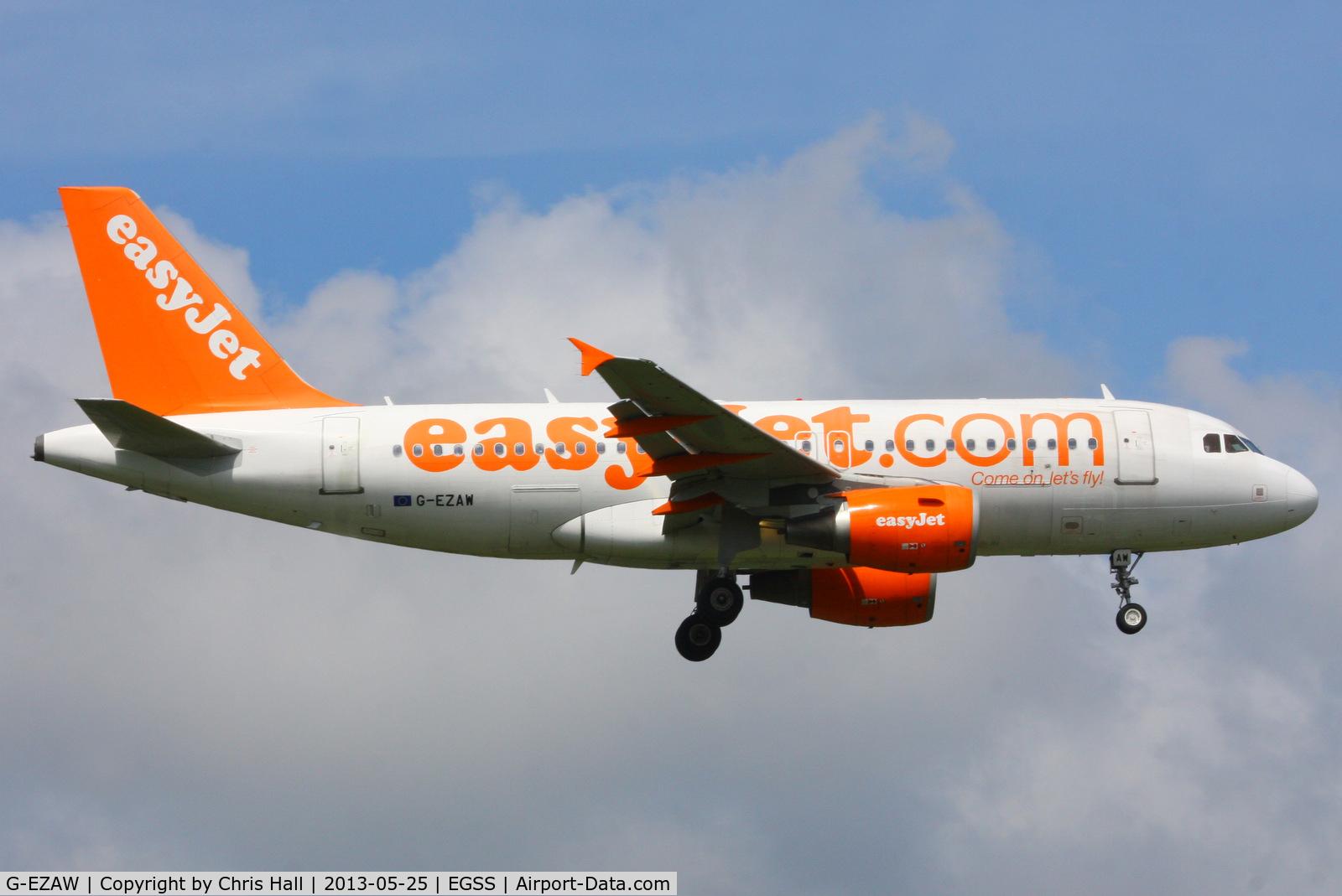 G-EZAW, 2006 Airbus A319-111 C/N 2812, easyJet