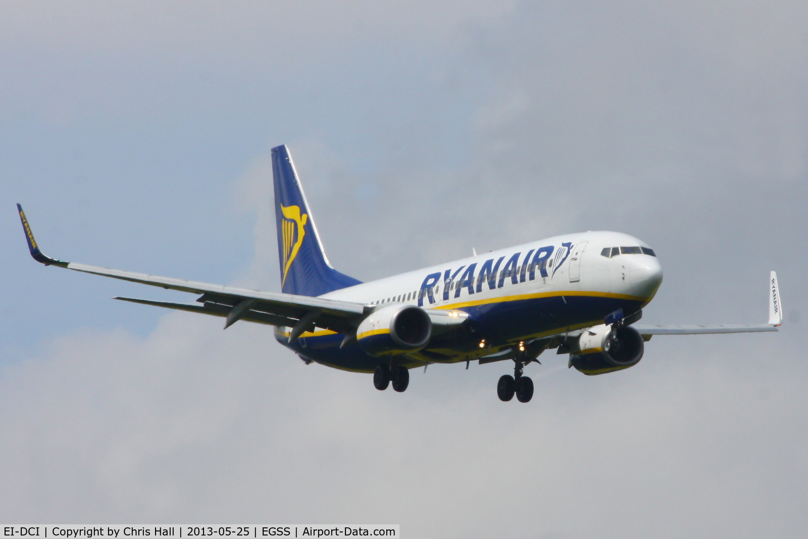 EI-DCI, 2004 Boeing 737-8AS C/N 33567, Ryanair