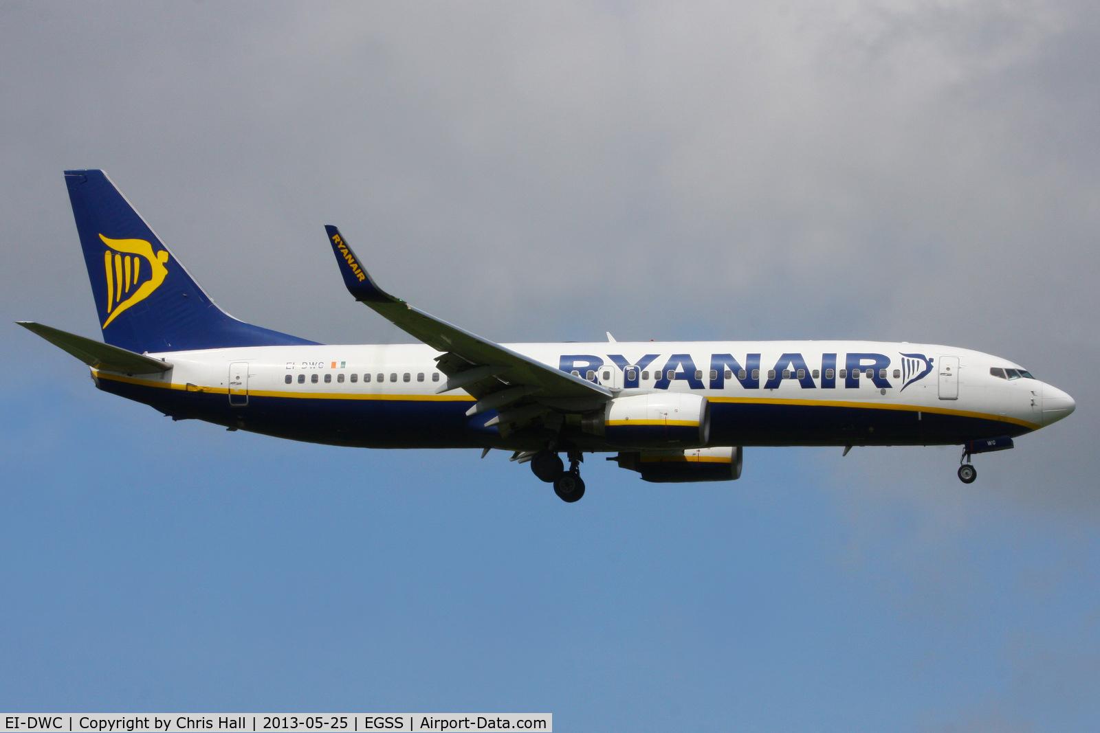 EI-DWC, 2007 Boeing 737-8AS C/N 36076, Ryanair