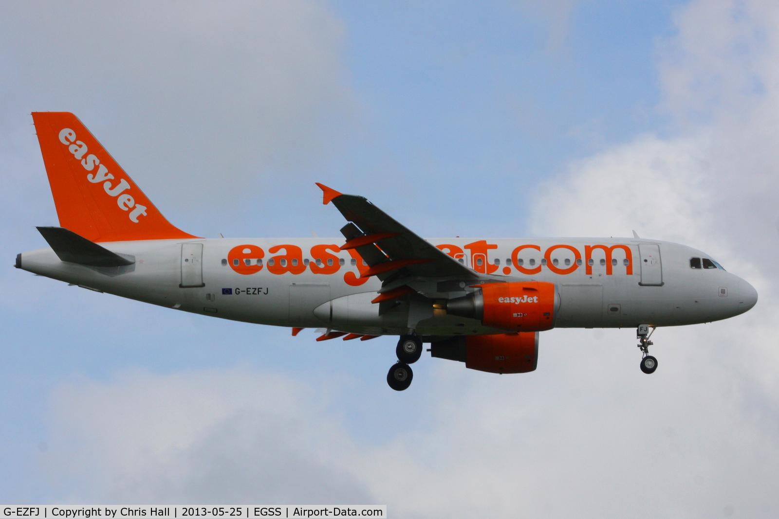 G-EZFJ, 2009 Airbus A319-111 C/N 4040, easyJet