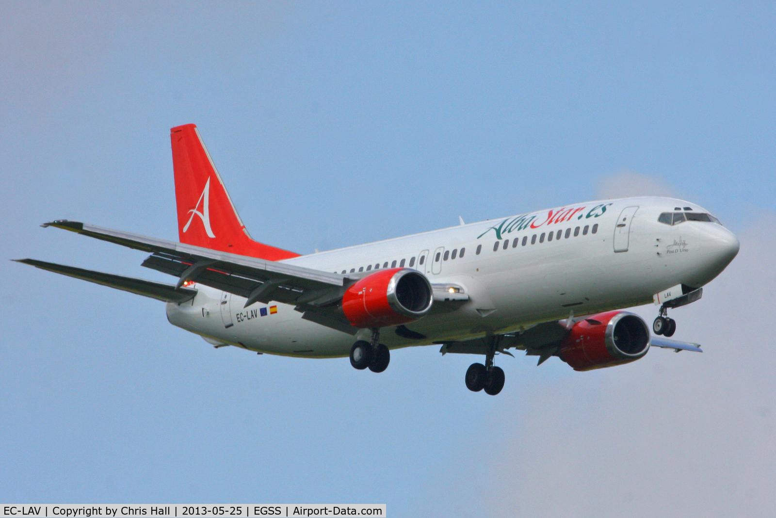 EC-LAV, 1989 Boeing 737-408 C/N 24352, Alba Star