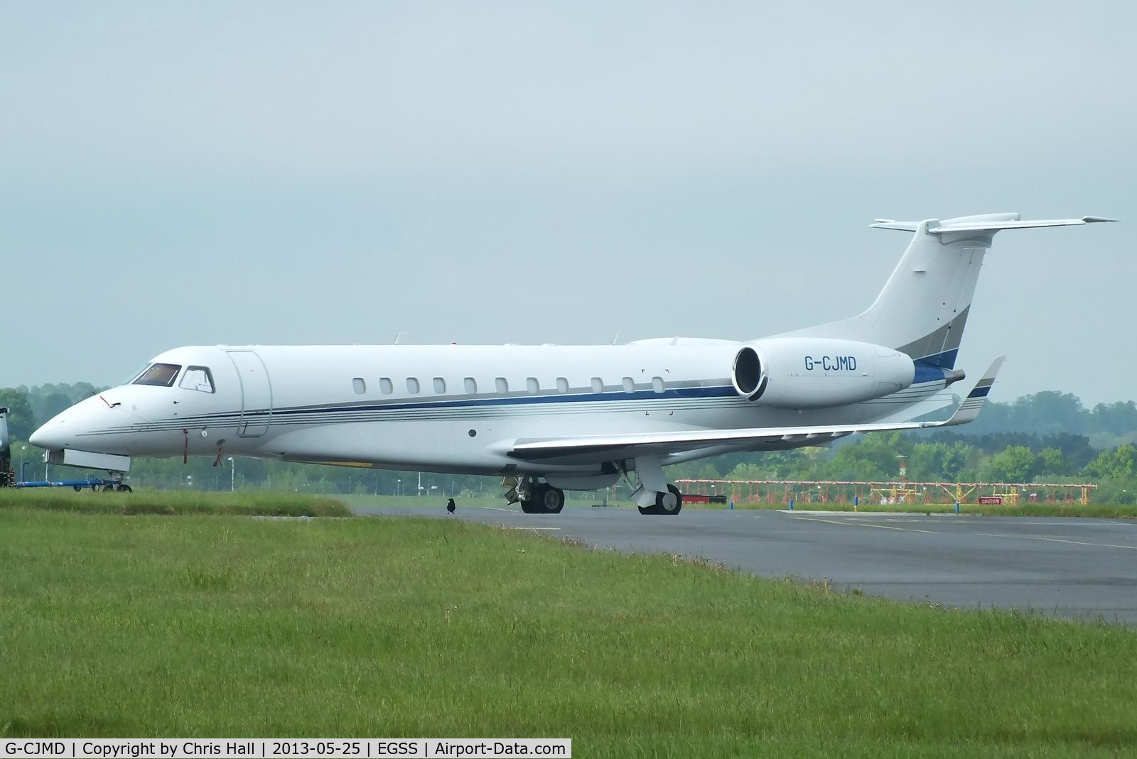 G-CJMD, 2007 Embraer EMB-135BJ Legacy C/N 14500994, Corporate Jet Management
