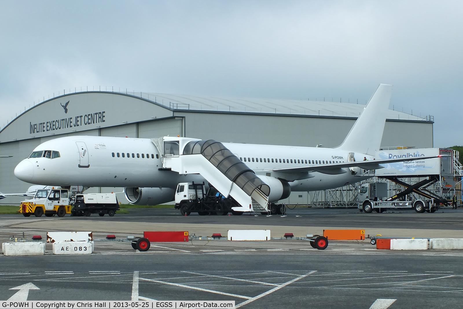 G-POWH, 2000 Boeing 757-256 C/N 29308, Titan Airways