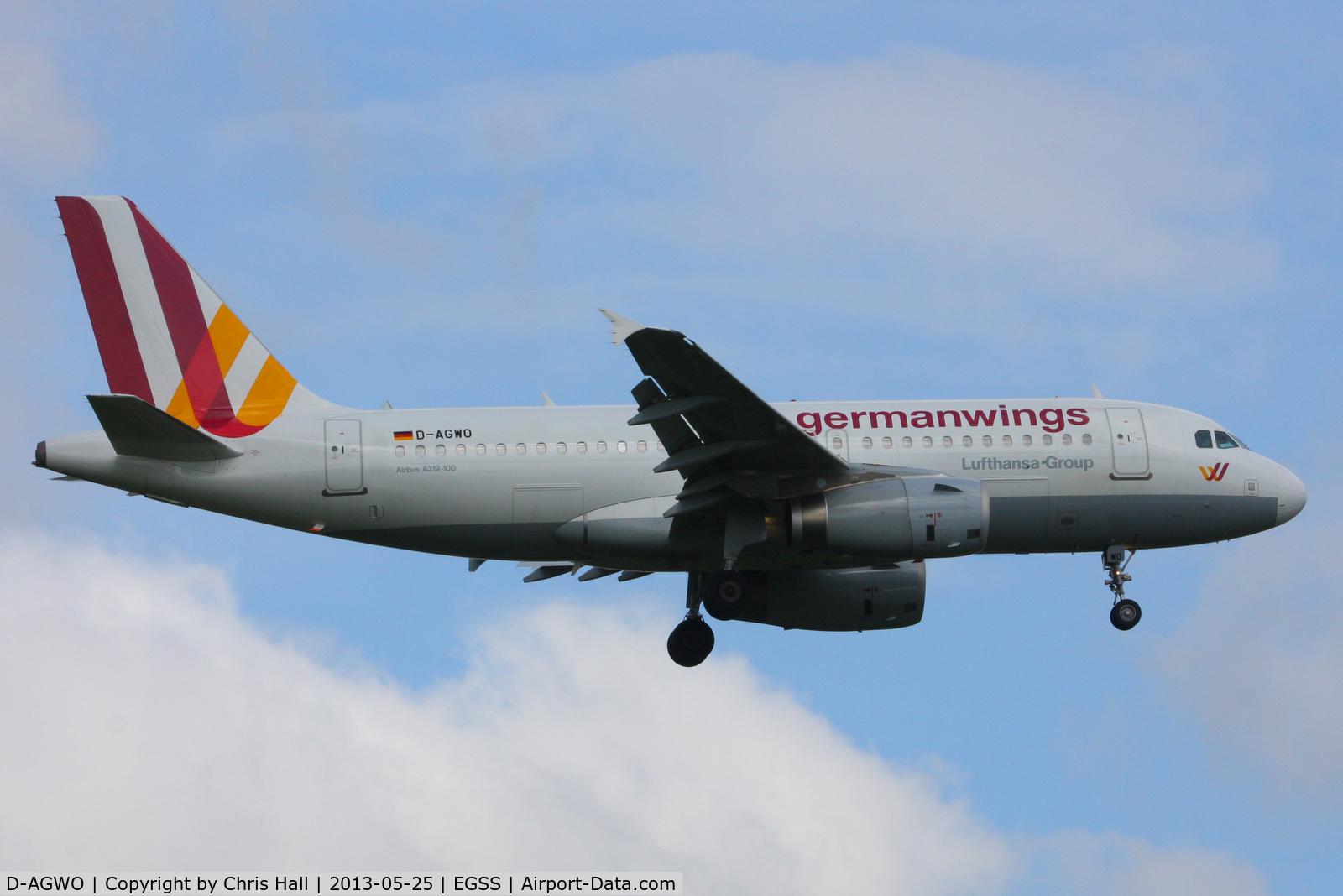 D-AGWO, 2009 Airbus A319-132 C/N 4166, Germanwings