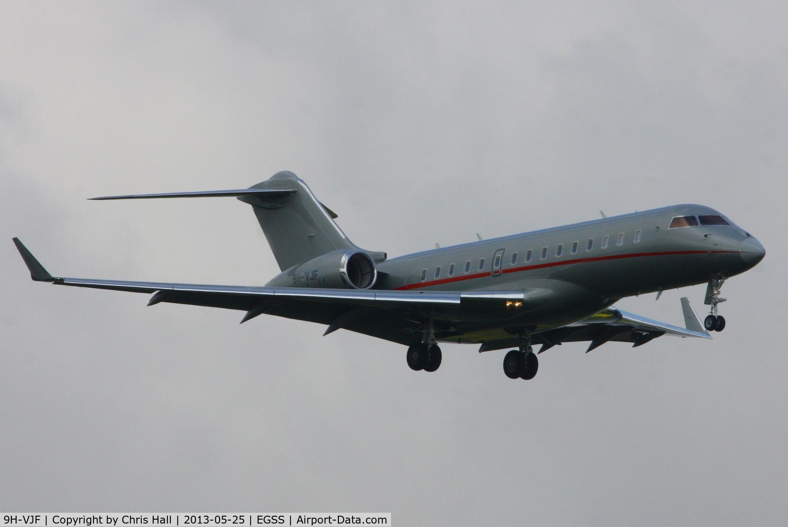 9H-VJF, 2012 Bombardier BD-700-1A10 Global 6000 C/N 9503, VistaJet