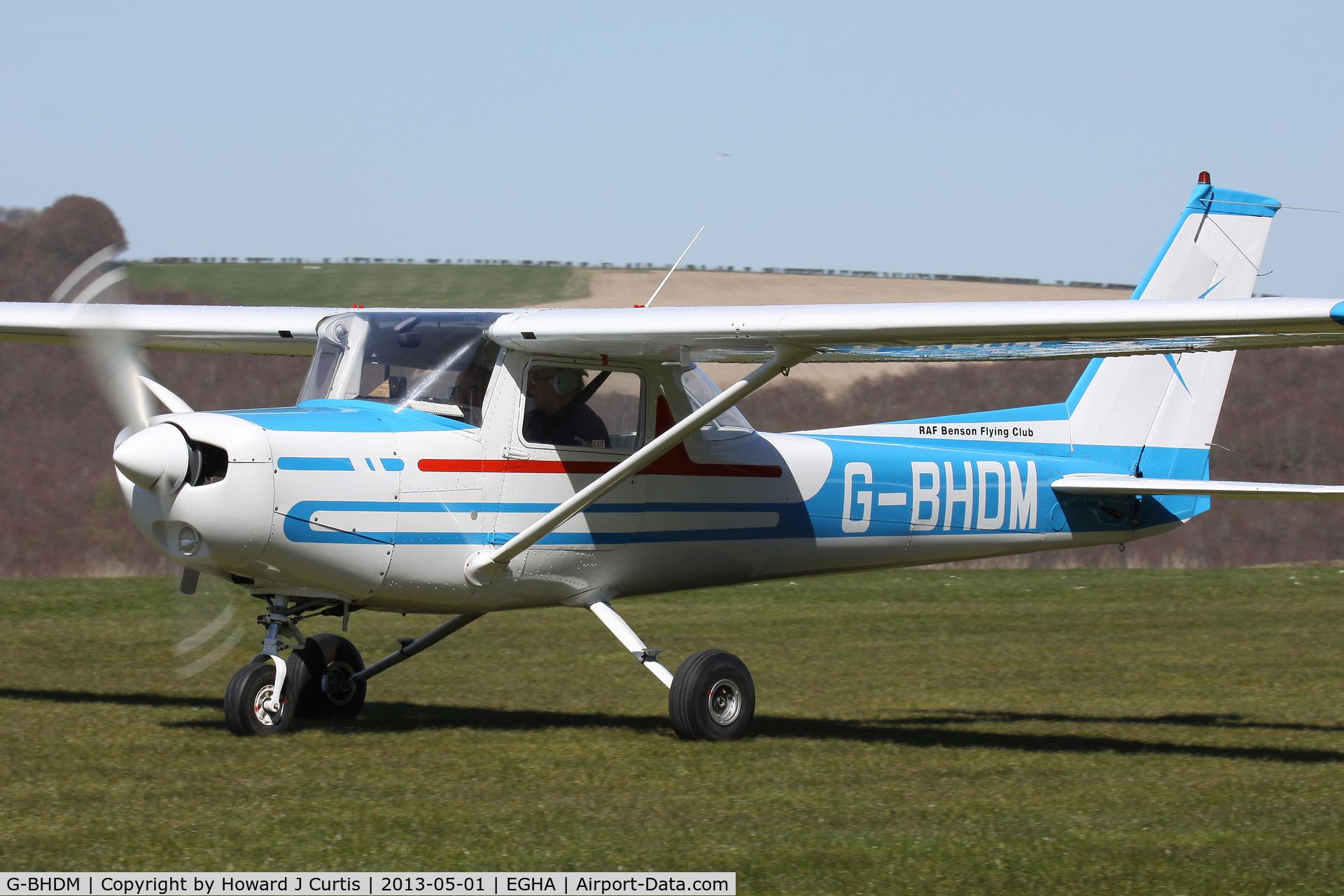 G-BHDM, 1979 Reims F152 C/N 1684, RAF Benson Flying Club