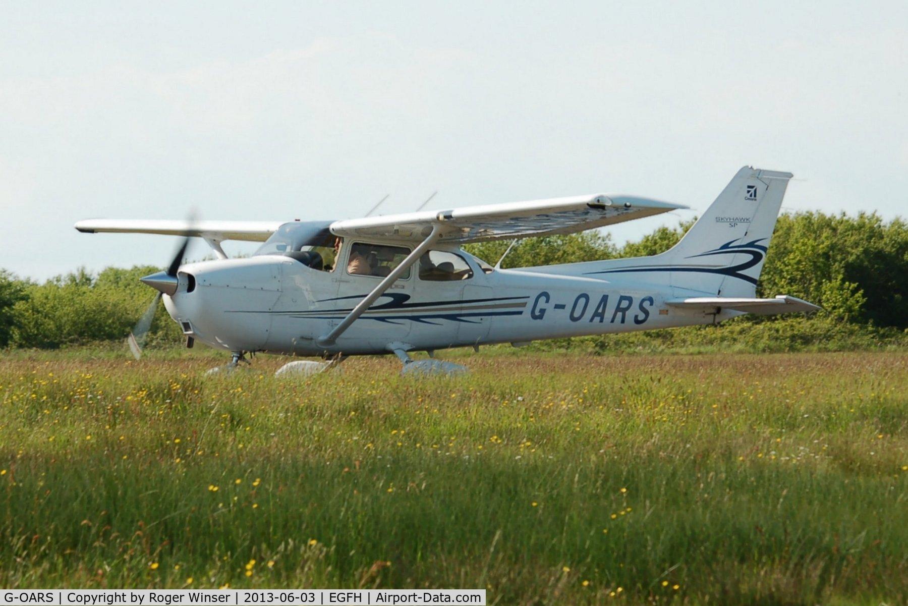 G-OARS, 2010 Cessna 172S Skyhawk C/N 172S11048, Visiting Millenium Skyhawk SP.