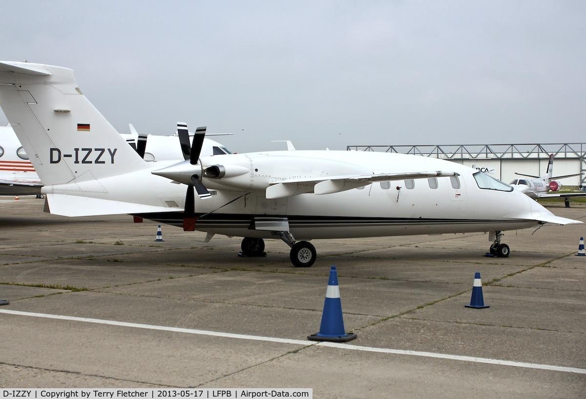 D-IZZY, 1999 Piaggio P-180 Avanti C/N 1034, 1999 Piaggio P-180 Avanti, c/n: 1034 at Paris Le Bourget