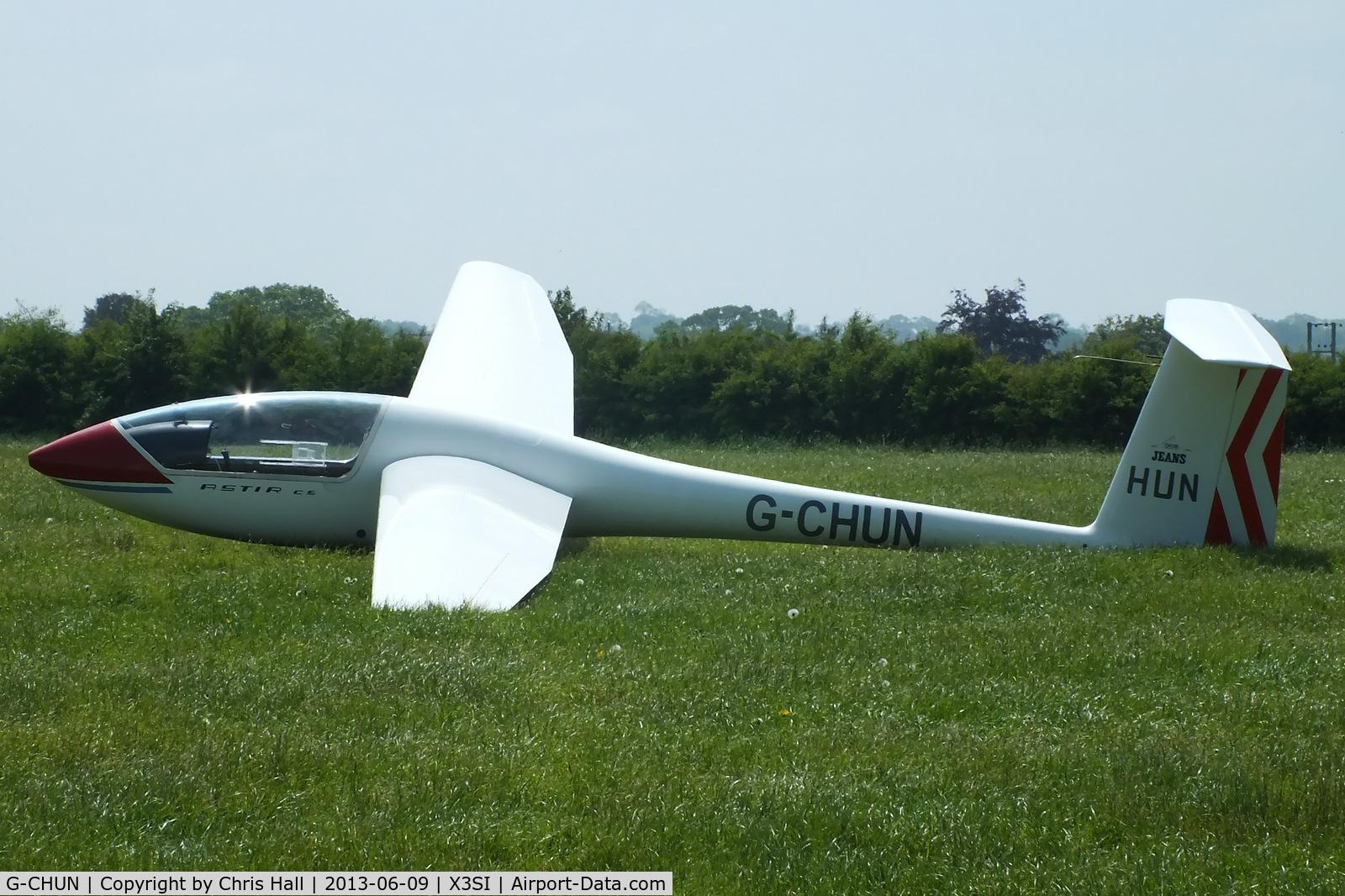 G-CHUN, 1978 Grob G-102 Astir CS Jeans C/N 2089, Staffordshire Gliding Club, Seighford Airfield